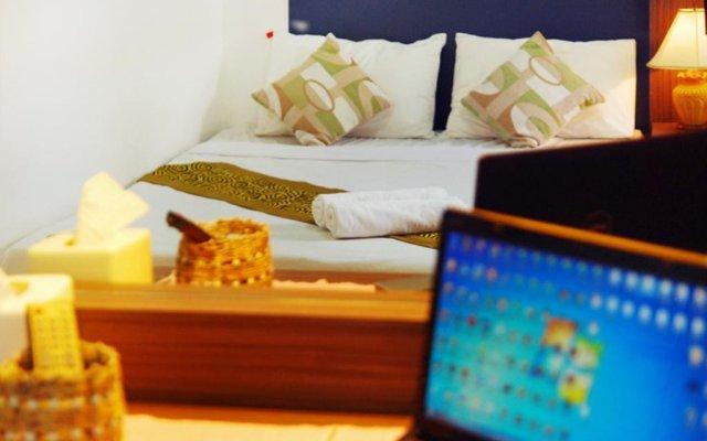 Отель Riski residence Bangkok-noi Таиланд, Бангкок - 1 отзыв об отеле, цены и фото номеров - забронировать отель Riski residence Bangkok-noi онлайн комната для гостей