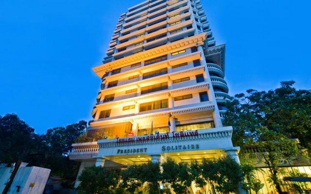 Отель President Solitaire вид на фасад