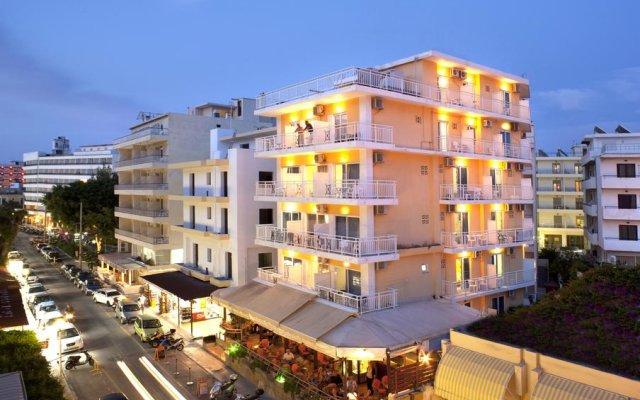 Отель Pearl вид на фасад