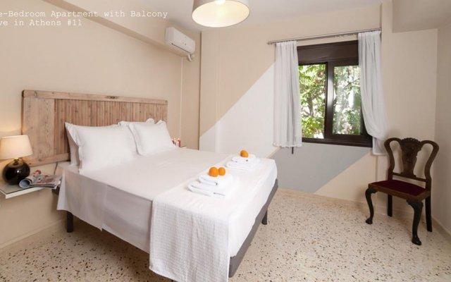 Апартаменты Live in Athens, short stay apartments комната для гостей