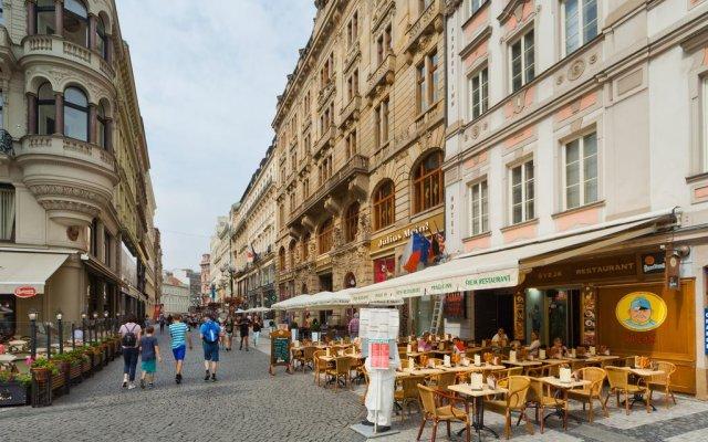 Hotel Prague Inn вид на фасад