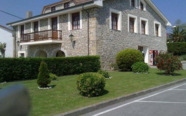 Отель Posada Playa de Langre вид на фасад