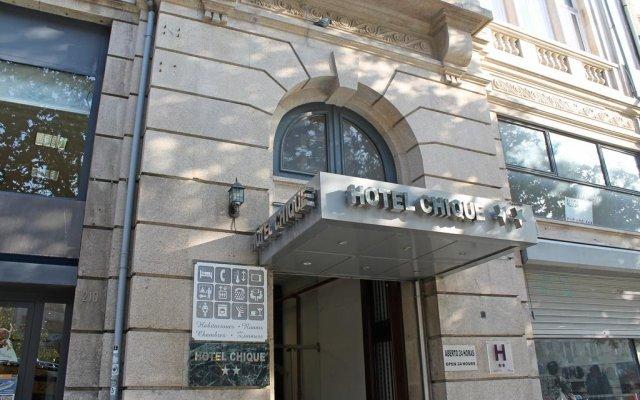 Hotel Chique вид на фасад
