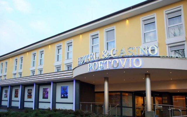 Hotel Poetovio Птуй вид на фасад