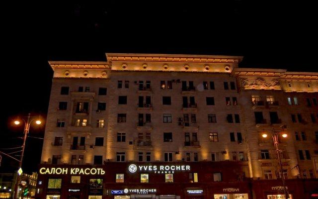 Гостиница Мегаполис вид на фасад