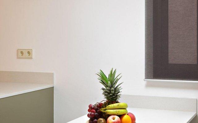 Апартаменты Habitat Apartments Pl. Espana Balconies Барселона комната для гостей