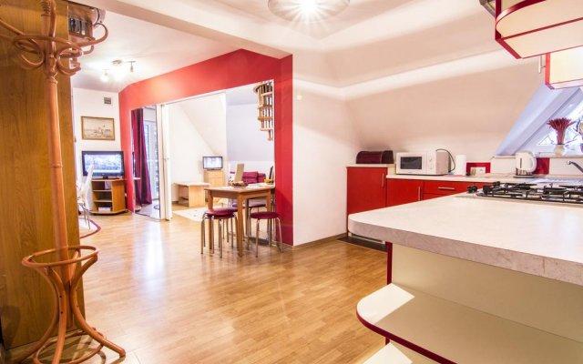 Отель Jastrzebi Dworek Zakopane Закопане комната для гостей