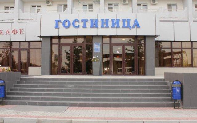 Гостиница Аэропорт Астрахань вид на фасад