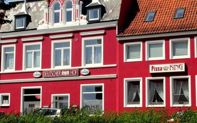 Hotel Deutscher Hof вид на фасад
