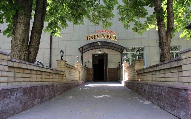 Гостиница Voskhod вид на фасад