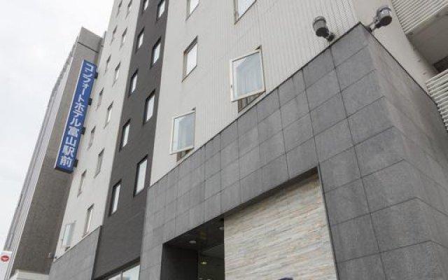 Comfort Hotel Toyama Ekimae Тояма вид на фасад