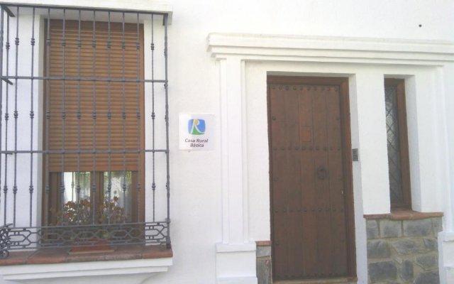 Отель Casa Rural-Apartamento El Lebrillero вид на фасад