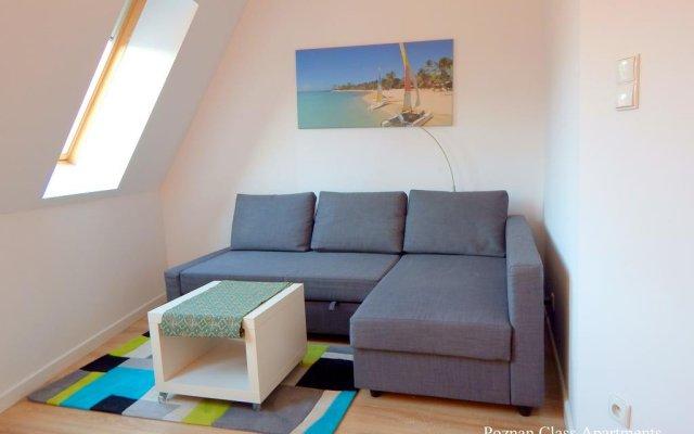 Апартаменты Poznań Class Apartments Познань комната для гостей