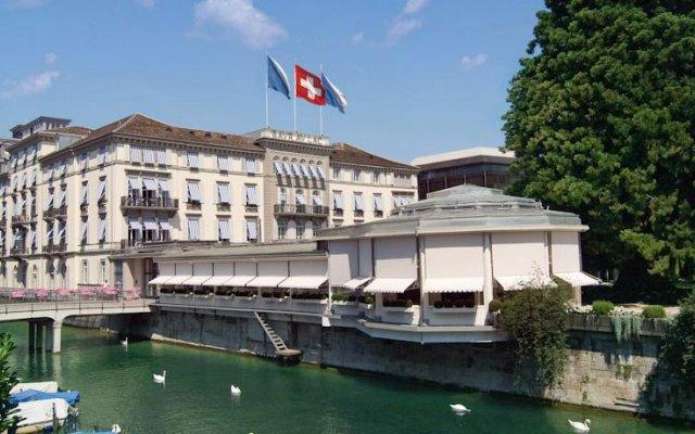 Отель Baur au Lac Швейцария, Цюрих - отзывы, цены и фото номеров - забронировать отель Baur au Lac онлайн приотельная территория