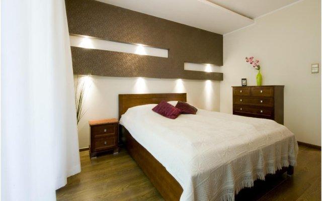 Отель Apartament Platinum Вроцлав комната для гостей