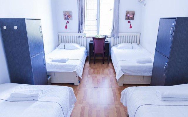 Chengdu Traffic Youth Hostel комната для гостей