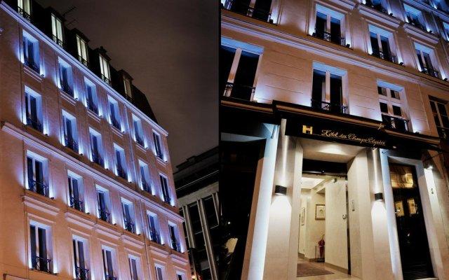 Отель Hôtel des Champs-Elysées Франция, Париж - отзывы, цены и фото номеров - забронировать отель Hôtel des Champs-Elysées онлайн вид на фасад