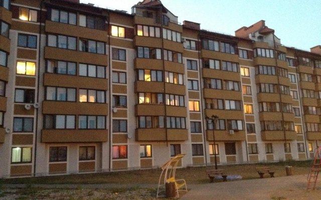 Гостиница Apartamenti Klyuch вид на фасад