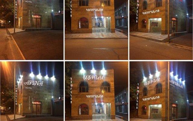 Мини-Отель Afina вид на фасад