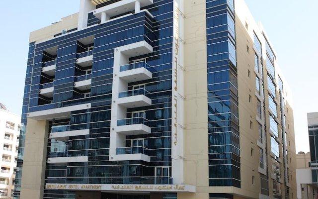 Отель Royal Ascot Hotel Apartment - Kirklees 2 ОАЭ, Дубай - отзывы, цены и фото номеров - забронировать отель Royal Ascot Hotel Apartment - Kirklees 2 онлайн вид на фасад