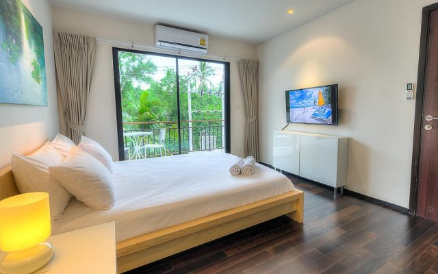 Отель The Title Comfort Condotel комната для гостей