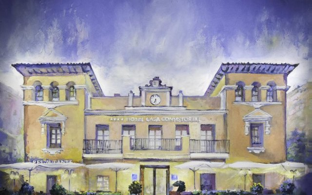 Отель Casa Consistorial Испания, Фуэнхирола - отзывы, цены и фото номеров - забронировать отель Casa Consistorial онлайн вид на фасад