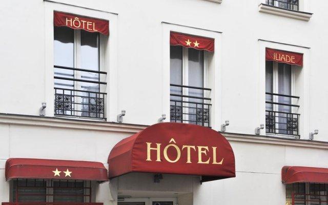 Отель Best Western Le 18 Paris вид на фасад