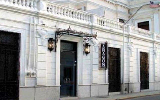 Hotel Aragon вид на фасад