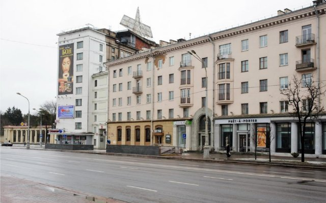 Гостиница Vip-Kvartira 3 вид на фасад
