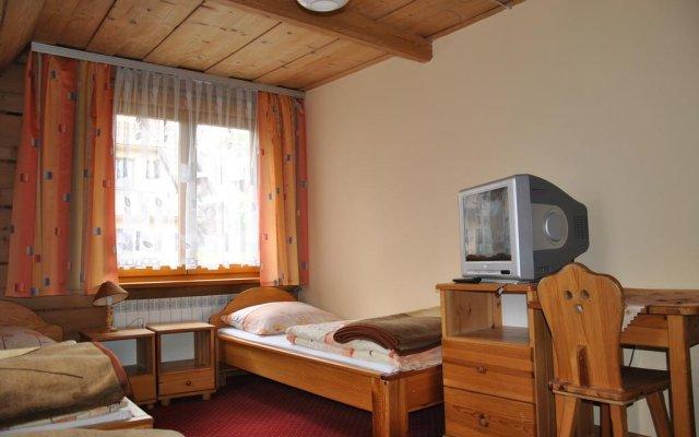 Отель Willa Świdrówka Закопане комната для гостей