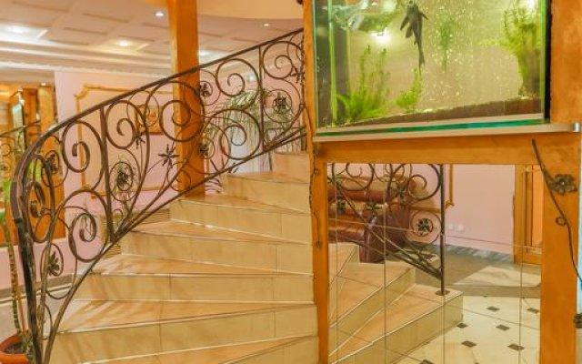 Гостиница Оазис вид на фасад