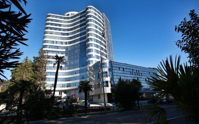 Гостиница BonApartments вид на фасад