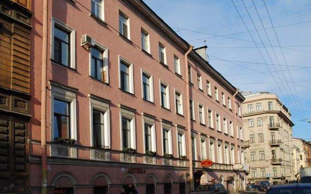Мини-отель на Свечном вид на фасад