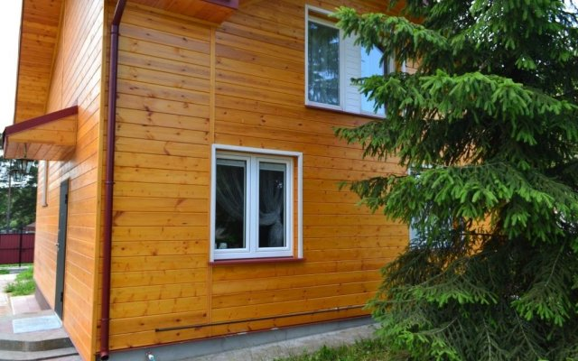 Гостиница Agroecousadba Tarusichi вид на фасад