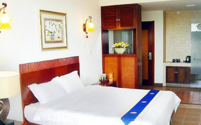 Апартаменты Fenghuang Rujia Holiday Apartments - Sanya Bay Branch комната для гостей