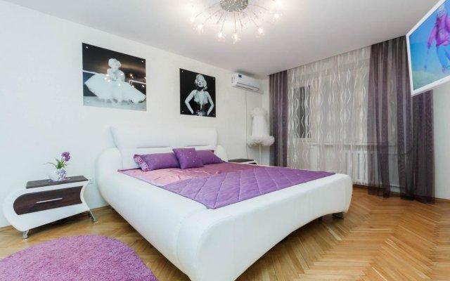 Отель CentralFlat on Nemiga Минск комната для гостей