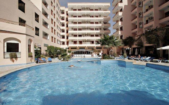 Отель The Three Corners Triton Empire Inn Египет, Хургада - 2 отзыва об отеле, цены и фото номеров - забронировать отель The Three Corners Triton Empire Inn онлайн бассейн