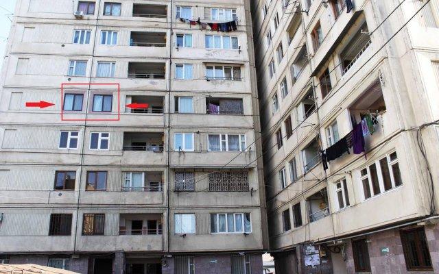 Отель 5th Floor Guest House Yerevan вид на фасад