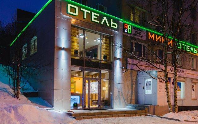 Мини-Отель Rooms & Breakfast вид на фасад