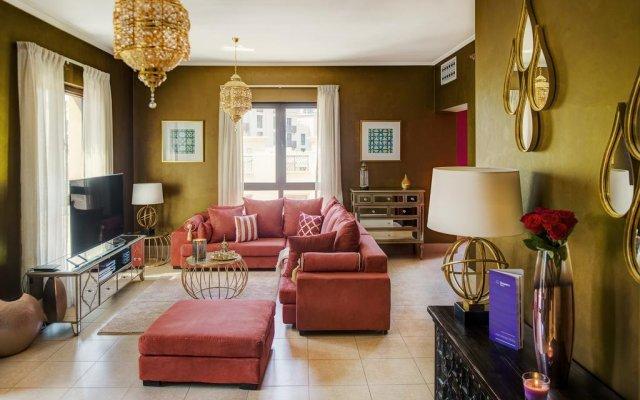 Апартаменты Dream Inn Dubai Apartments - Kamoon комната для гостей