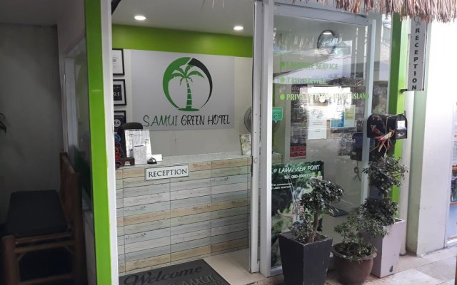 Samui Green Hotel вид на фасад