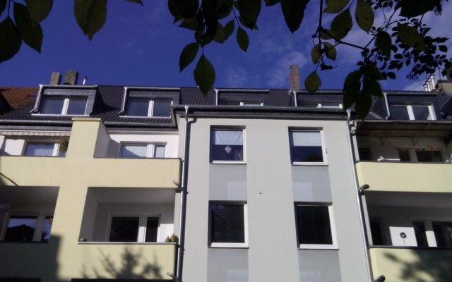 Апартаменты Apartment Uwe вид на фасад
