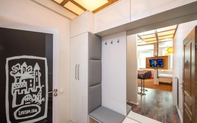 Апартаменты LvivSon Apartments Львов комната для гостей