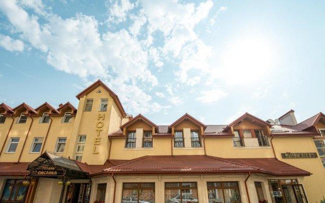 Hotel and Restaurant Pysanka вид на фасад