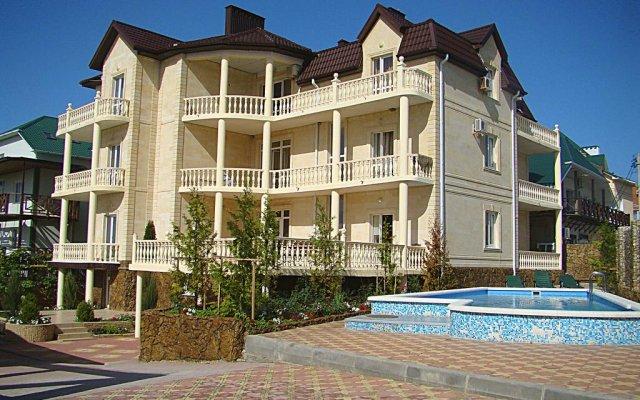 Гостиница Inn Buhta Udachi вид на фасад