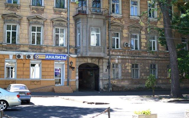 Гостиница Garmoniya 888 вид на фасад