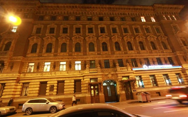Мини-Отель Фонтанка 64 вид на фасад