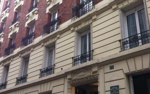 Отель Hipotel Paris Sacre Coeur Olympiades вид на фасад