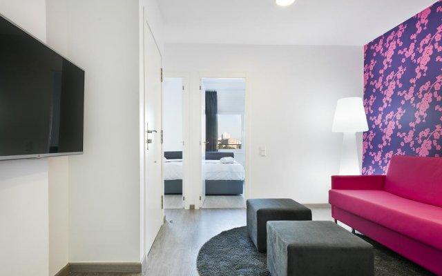 Отель Mar Apartments Испания, Барселона - отзывы, цены и фото номеров - забронировать отель Mar Apartments онлайн комната для гостей