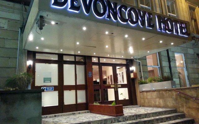 Отель DEVONCOVE Глазго вид на фасад